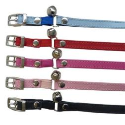 Plain Jane Leather Cat Collars | Cat Accessories - DOGUE