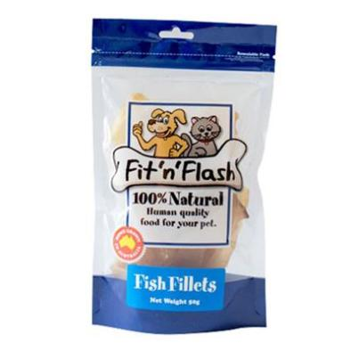 Fit 'n' Flash Dog Treats Fish | Dog Training Treats - DOGUE