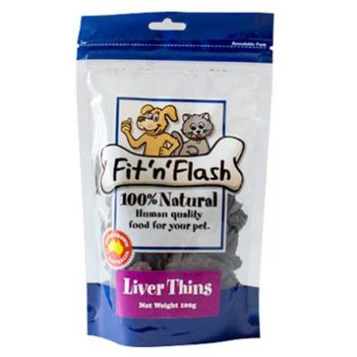 Fit 'n' Flash Dog Treats Liver | Dog Training Treats - DOGUE
