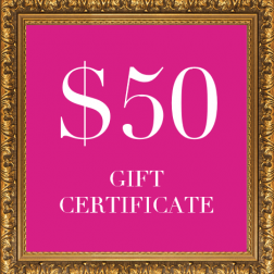 DOGUE dog gift certificate $50
