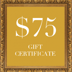 DOGUE dog gift certificate $75