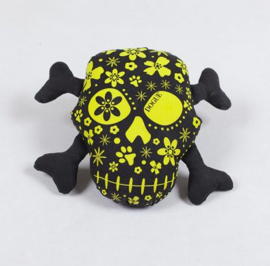 DOGUE Skulls Toy - lime