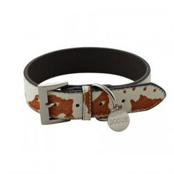 dogue pony hair dog collar