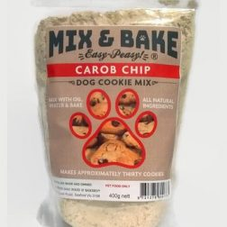 Carob Chip Dog Biscuits