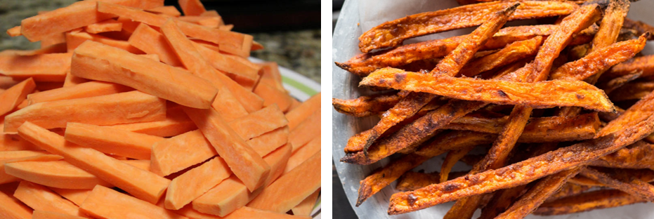 DIY Sweet Potato Fries | Treats For Dogs